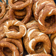 Turkish bagel, also known as simit — Stock Photo