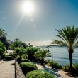 Stock Photo: View of Eivissa promenade. Ibiza, Spain