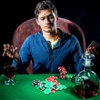 Poker player — Stock Photo #32805439