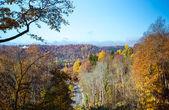 Krásné podzimní krajiny. Sigulda, Lotyšsko — Stock fotografie