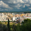 Panoramic view of Eivissa center. Ibiza, Spain — Stock Photo