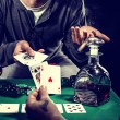 Stock Photo: Gambler