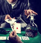 Gambler — Stock Photo