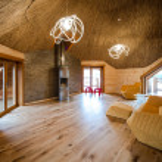 Fashionable living room — Stock Photo