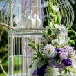 Beautiful wedding decoration — Stock Photo