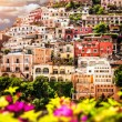 View of Positano — Foto Stock