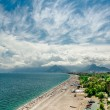 Panoramic view of Antalya city — Stockfoto
