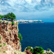 Antalya city. It is biggest international sea resort in Turkey — Stock Photo
