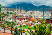 Alanya port — Stock Photo