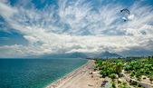 Panoramic view of Antalya city — Stock Photo