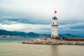 Alanya lighthouse — Stock Photo