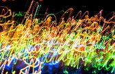 Abstract multicolored blurred lights background — Foto Stock
