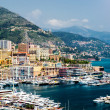 Cityscape and harbour of Monte Carlo. Principality of Monaco — Stock Photo