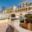Empty street view of Monaco — Stock Photo
