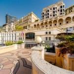Empty street view of Monaco — Stock Photo
