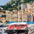 Stock Photo: Principality of Monaco. Preparation for Monaco Formul1 Grand Prix