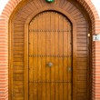 Wooden door — Stock Photo #40707265