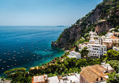 Picturesque Amalfi coast. Positano, Italy — Stock Photo