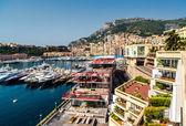 View of Monaco Hercule port — Stock Photo