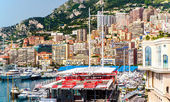 Principality of Monaco. Preparation for Monaco Formula 1 Grand Prix — Stock Photo