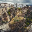 Stock Photo: View of the old city of Ronda