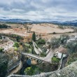 View of Ronda and surrounding countryside — Stock Photo