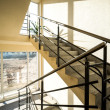 Stock Photo: Staircase in a modern building