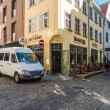 Stock Photo: RihardVagnerstreet, heart of Old Riga
