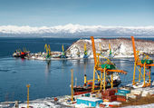 Petropavlovsk-Kamchatsky — Stock Photo