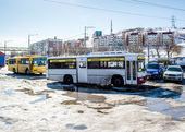 Petropavlovsk-Kamchatsky city — Stock Photo