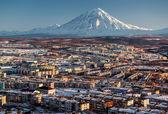 петропавловск камчатский городской пейзаж — Стоковое фото