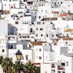 Vejer de la Frontera rooftops. Costa de la Luz, Spain — Stock Photo