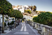 Vejer de la Frontera seafront — Stock Photo