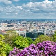 View of Pest, eastern part of Budapest. Hungary — Stock Photo #45772231