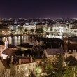 View of Pest at night, eastern part of Budapest. Hungary — Stock Photo #45772299