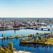 Panorama of Riga city. Latvia — Stock Photo #45772481