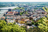 View of Buda, western part of Budapest. Hungary — Stock Photo