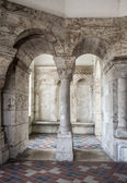 Inside of Fisherman's Bastion tower. Budapest, Hungary — Stock Photo