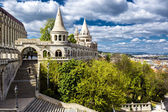 Fisherman's Bastion. Budapest city. Hungary — Stock Photo