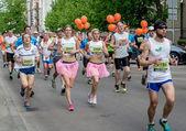 2014 Nordea Riga marathon — Stock Photo