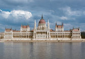 Hungarian Parliament Building. Budapest, Hungary — Stock Photo
