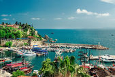 Antalya harbor. Turkey — Stock Photo