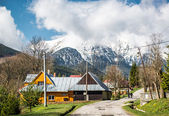 Typical village near High Tatras. Slovakia — Stock Photo