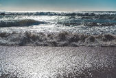 Ocean waves. Cadiz, Spain — Stock Photo