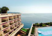 Picturesque seaside. Monte Carlo, Principality of Monaco — Stock Photo