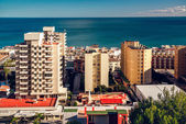 Coastal architecture of Torremolinos town. Spain — 图库照片