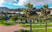 Beautiful Battery Park (Parque La Bateria), Torremolinos. Spain — Stock Photo