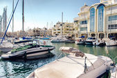Puerto Marina. Benalmadena, Spain — Stock Photo