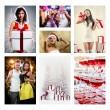 Christmas collage — Stock Photo #51457701