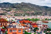 Alanya cityscape. Turkish resort — Stock Photo
